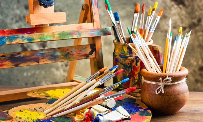 Shadow Oak Art - Arcadia: Vincent van Gogh Painting Class for One, Two, or Five Adults or Children at Shadow Oak Art (Up to 74%Off)