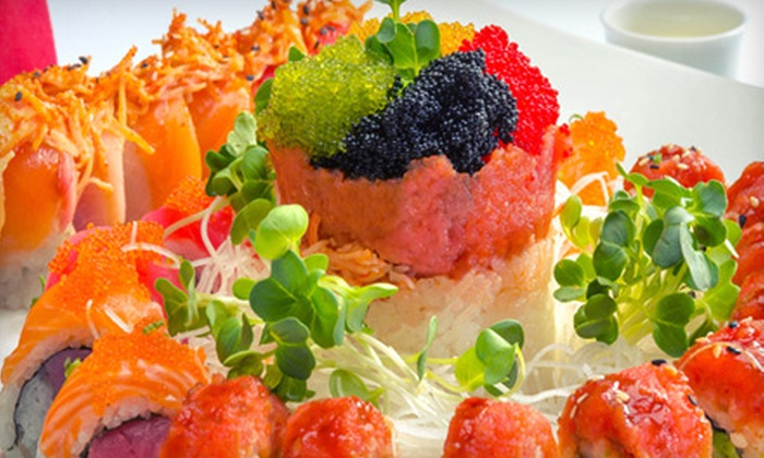 Sushi Saga - Reno: All-You-Can-Eat Sushi for Two or Four at Sushi Saga (Up to 54% Off)