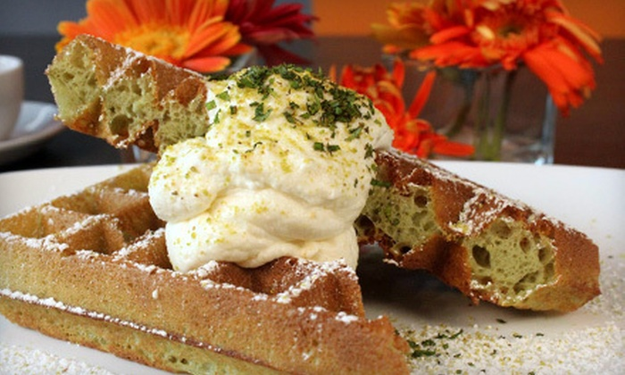 Waffles - Lakeview: $19 for Brunch for Two with Flights of Hot Chocolate at Waffles (Up to $39.80 Value)