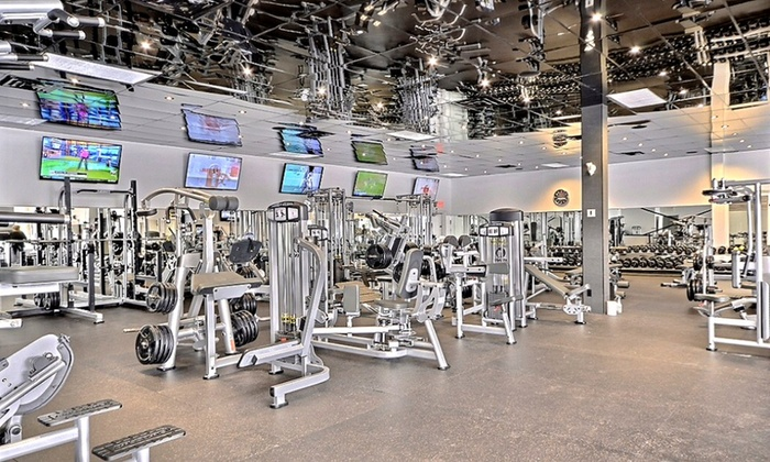 Centre Pure Fitness - Centre Pure Fitness: One Month of Gym Visits, or New Year Fitness Package at Centre Pure Fitness (Up to 55% Off)