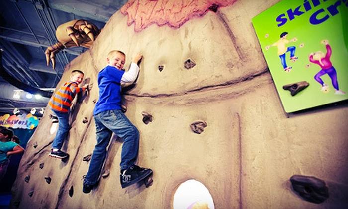 HealthWorks! Kids' Museum - South Bend: $35 for Sensational Sidekick Access for Up to Six Family Members for One Year at HealthWorks! Kids' Museum ($75 Value)