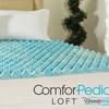 """Beautyrest 1.5"""" Reversible Gel Memory Foam Mattress Toppers"""