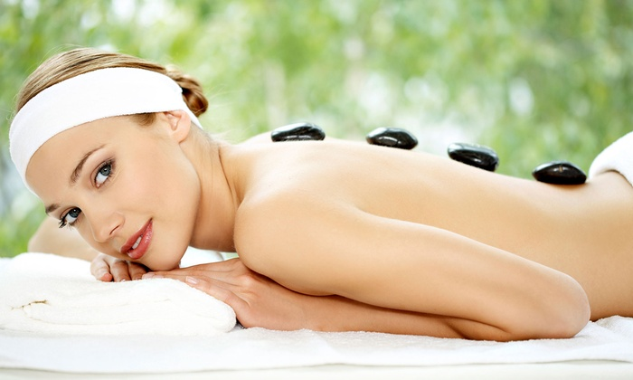 Aki Massage - Riviera: One or Two 60-Minute Hot-Stone Massages at Aki Massage (Up to 51% Off)