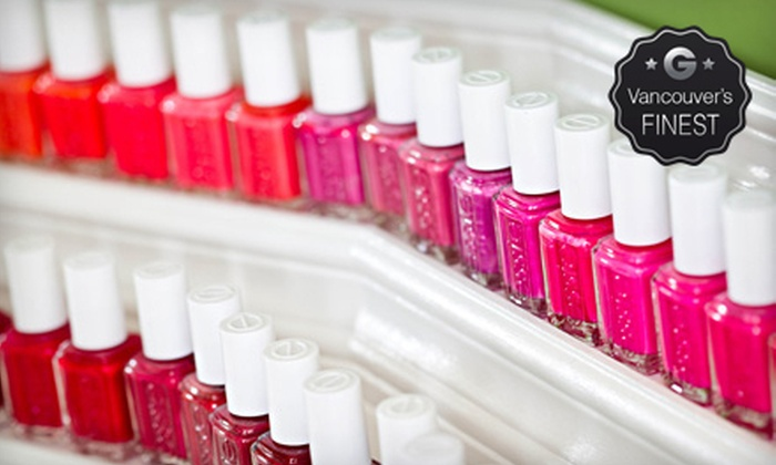 Bloom Essentials - Vancouver: $44 for a Picasso Pedicure with Nail Designs and a Take-Home Professional Foot File at Bloom Essentials ($85 Value)