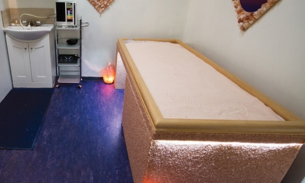 One or Two Salt-Bed and Whole-Body-Vibration Sessions at Salt Paradise (Up to 51% Off)