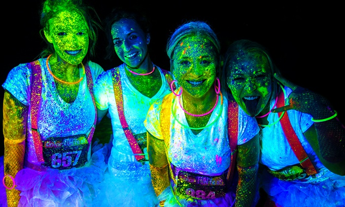 Color Fun Fest 5K - Gateway Motorsports Park: Registration for One or Four to the Color Fun Fest 5K (Up to 52% Off)