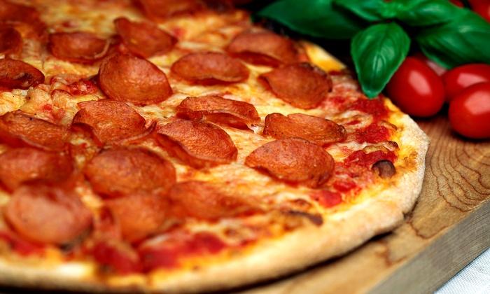 Goomba's Pizzeria - Schertz: Pizza, Salad, and Sodas for Two or Fourat Goomba's Pizzeria (Up to 49% Off)