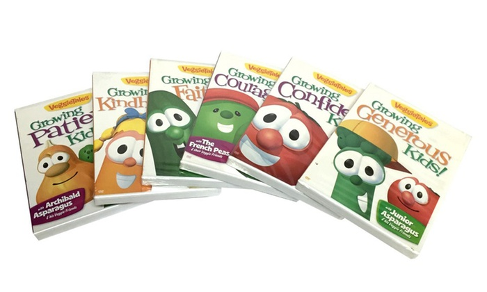VeggieTales Growing DVD Bundle...