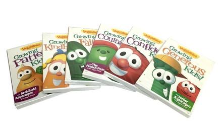 VeggieTales Growing DVD Bundle (6-Disc)