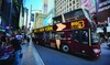 Up to 56% Off Hop-On, Hop-Off NYC Tours from Big Bus Tours