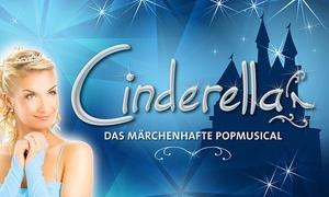 """Cinderella - das Popmusical: 2 Tickets für """"Cinderella - Das Popmusical"""" mit Gaststar Loona in u. a. Hamburg, Lübeck und Rostock (bis zu 48% sparen)"""