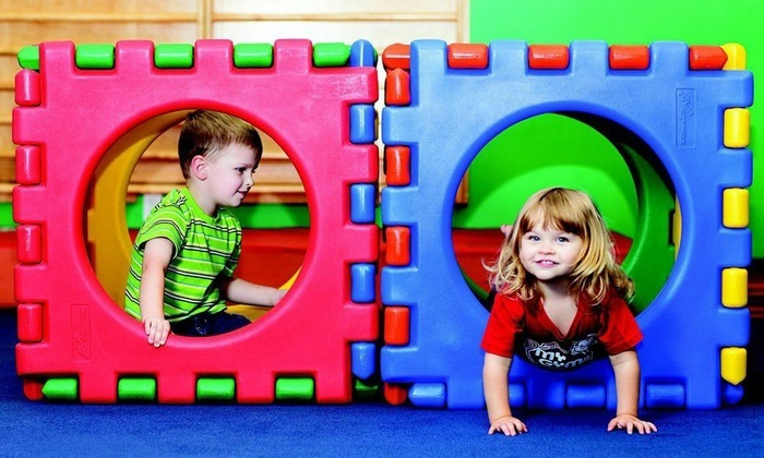 My Gym Children's Fitness Center - Admirals Cove: Four Weeks of Classes and Free Play or Birthday Party for 10 at My Gym Children's Fitness Center (Up to 70% Off)