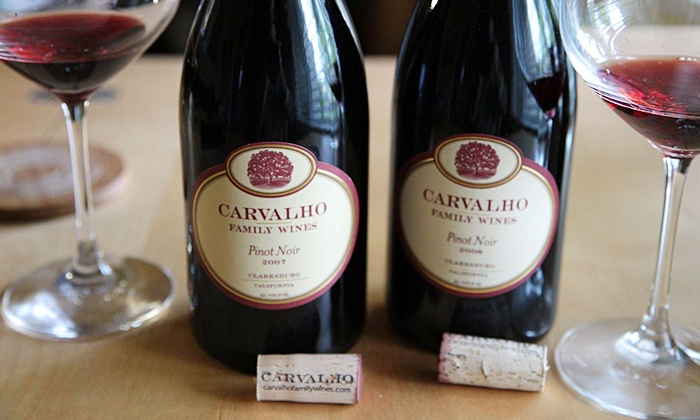 Carvalho Family Winery - Carvalho Family Winery at Old Sugar Mill: $26 for Admission for Two to the Wine and Art Faire at Carvalho Family Winery on October 5 ($50 Value)