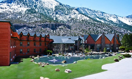 Stay at The Resort on Mount Charleston near Las Vegas, with Dates into April