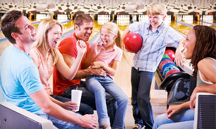 Burlington Bowl - Burlington: Two Hours of Bowling for Up to 6 or 12 People with Option for Large Pizza at Burlington Bowl (Up to 77% Off)