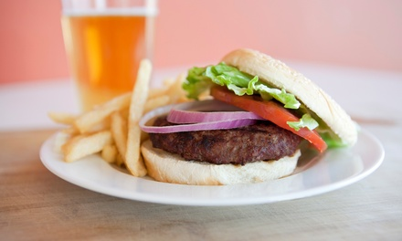 Pub Fare at Library Sports Pub and Grill (Up to 45% Off)