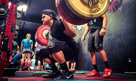 CrossFit Beginner's On Ramp Package or 10 CrossFit Classes at Mighty CrossFit (Up to 74% Off)