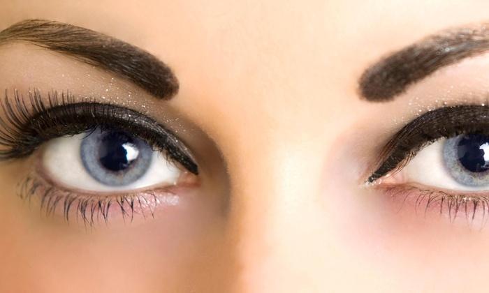 Beautiful Face Semi Permanent Make Up Studio - La Canada Flintridge: Full Set of Eyelash Extensions at beautiful face by donna (57% Off)