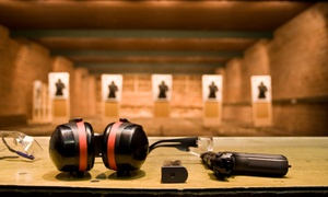 Bristlecone Shooting, Training & Retail Center: Shooting-Range or Simulator Experience at Bristlecone Shooting, Training & Retail Center (Up to 49% Off)