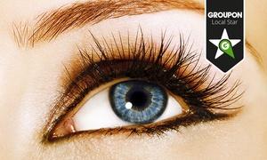 Lamedin: Wimpernverlängerung mit 80-100 Wimpern pro Auge, optional inkl. Refill, bei Lamedin ab 39 € (72% sparen*)