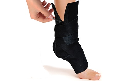 Zippered Adjustable Ankle Compression Support