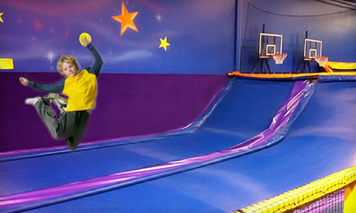 Cosmic Jump - Multiple Locations: Two One-Hour Jump Passes or Four Two-Hour Jump Passes at Cosmic Jump (Up to Half Off)