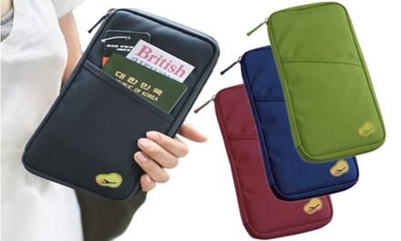1x oder 2x Reise-Brieftasche in der Farbe nach Wahl (Stuttgart)