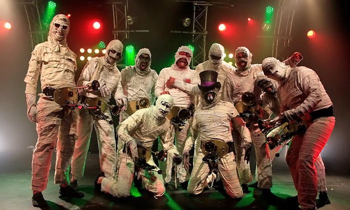 Here Come the Mummies - Victory Theatre: $25 to See Here Come the Mummies at Victory Theatre on Friday, April 18 (Up to $42.85 Value)