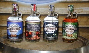 Dawsonville Moonshine Distillery: Moonshine Distillery Packages at Dawsonville Moonshine Distillery (45% Off). Four Options Available.