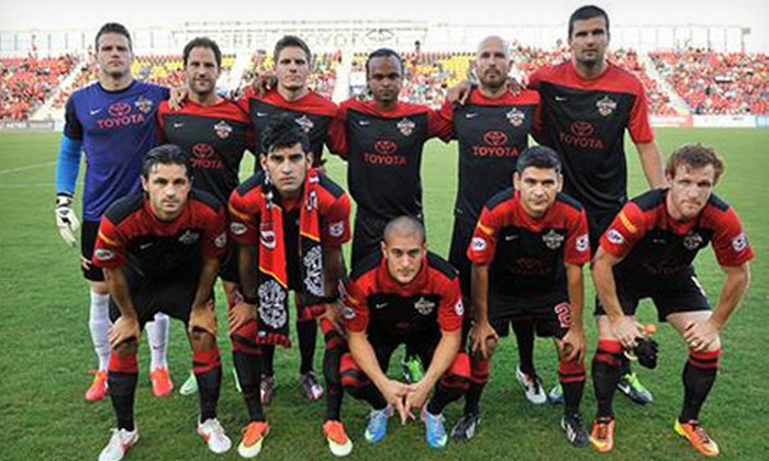 San Antonio Scorpions - Toyota Field: $18 for a San Antonio Scorpions International Soccer Friendly for Two at Toyota Field on July 20 ($37.90 Value)
