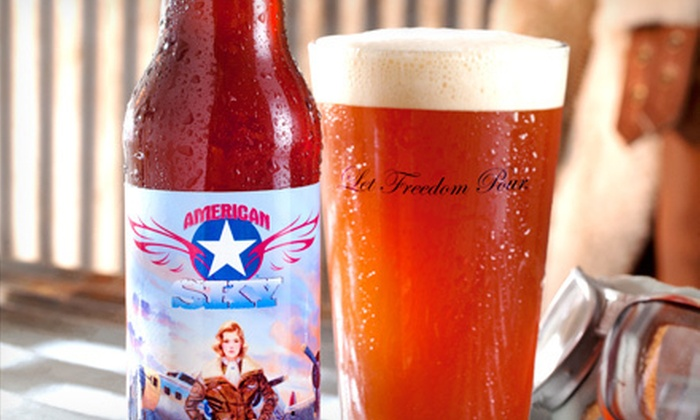 American Sky Beer - Hudson: Brewery Tour for Two or Four at American Sky Beer (Up to 52%Off)