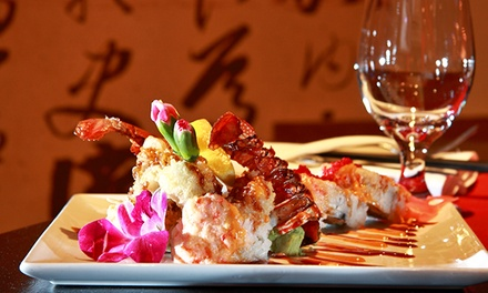 Asian Cuisine at Elaine's Asian Bistro (Up to 45% Off). Four Options Available.