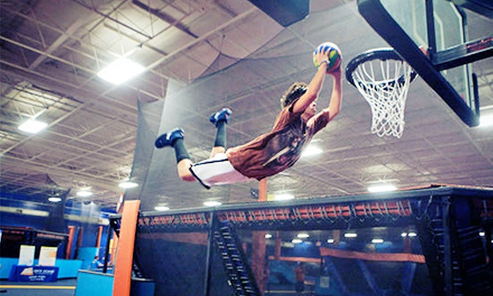 Sky Zone Kansas City - Countryside West: Two 60-Minute Open-Jump Sessions or a Jump Around Party Package for 10 at Sky Zone Kansas City (Half Off)