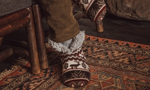 Muk Luks Men's Short Slipper Boots