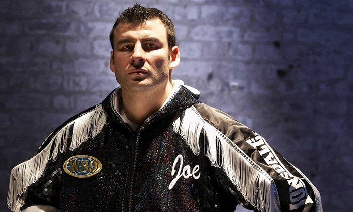 Precision Sports Management - Gateshead: An Audience With Joe Calzaghe: Ticket (from £12) Plus Meal (from £49) (Up to 66% Off)