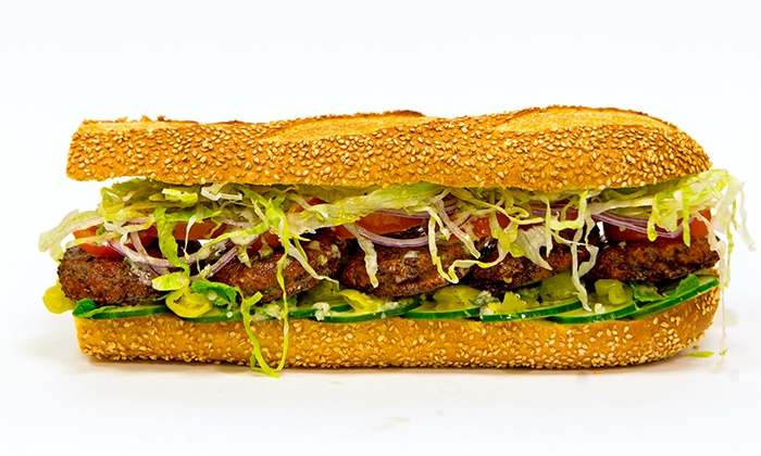 Taylor Gourmet - Multiple Locations: $17 for $26 Worth of Handcrafted Hoagies and Salads at Taylor Gourmet