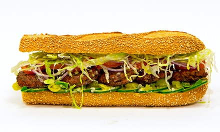$17 for $26 Worth of Handcrafted Hoagies and Salads at Taylor Gourmet