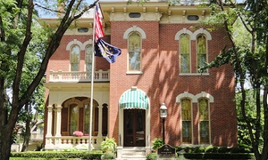 James Whitcomb Riley Museum Home: Guided Tour of James Whitcomb Riley Museum Home for Four or Six (Up to 46% Off)