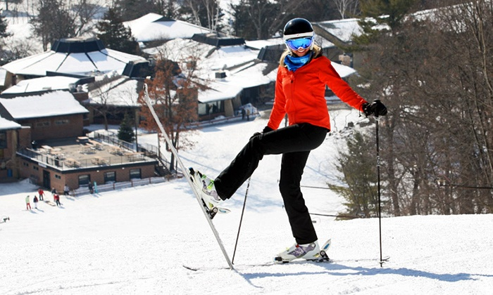 Devil's Head Resort - Merrimac: Lift Ticket or Ski or Snowboard Package with Equipment Rental and Lift Ticket at Devil's Head Resort (44% Off)