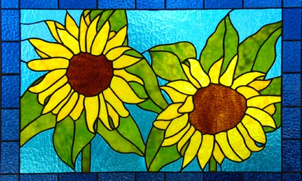 Two-Hour Stained Glass Workshop for One or Two at Rainbow Vision Stained Glass (Up to 59% Off)