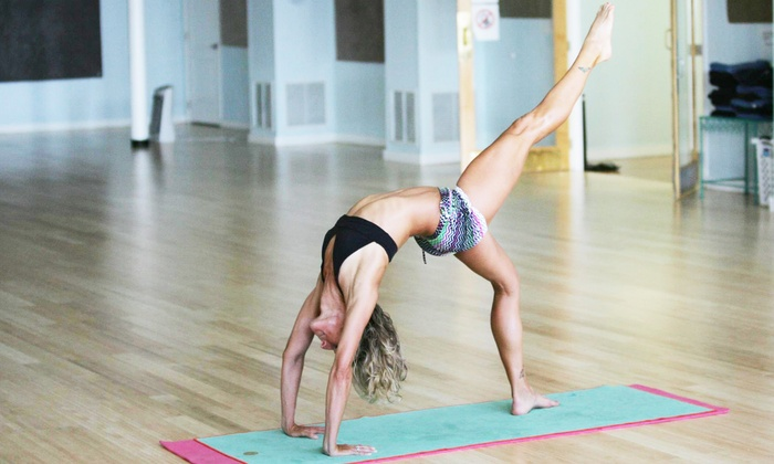 Hot Salutations - Winston Park: 5 or 10 Hot-Yoga Classes or One Month of Unlimited Hot-Yoga Classes at Hot Salutations (Up to 67% Off)