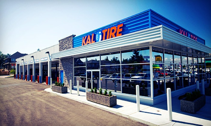 Kal Tire - Multiple Locations: $29.99 for $100 Worth of Auto Parts and Services at Kal Tire