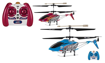 3.5CH IR RC Helicopter Illustrated with NBA Team and Player Name
