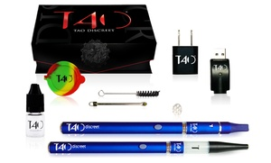 Tao Electronics: $45 for a TAO Discreet Vaporizer with a Gift Box and Accessories from Tao Electronics ($179 Value)
