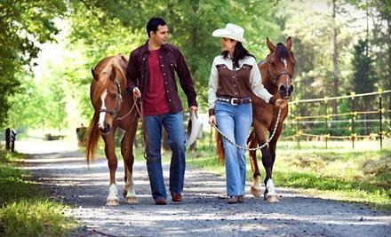 2.5-Hour Horseback-Riding Outing (an $80 value) - Sagebrush Ranch in Las Vegas