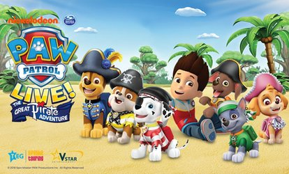 Paw Patrol Live, 1–2 September in Bournemouth, 8-9 September in Brighton (Up to 40% Off)