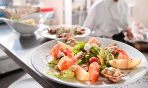 Le Muse: Menu di pesce per 2 o 4 persone presso il ristorante Le Muse (sconto fino a 77%)