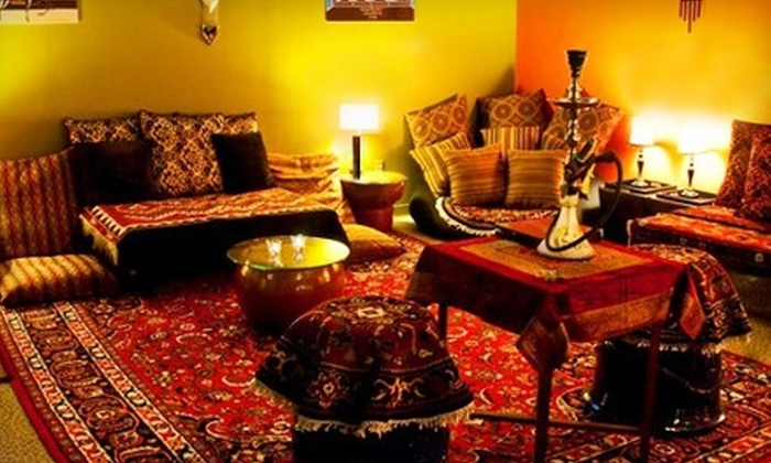 Genie's Hookah Lounge - Newport: Persian Cuisine, Teas, and Hookah at Genie's Hookah Lounge (Up to 58% Off). Two Options Available.