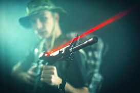 Island Time: Two Games of Laser Tag at Island Time (42% Off)