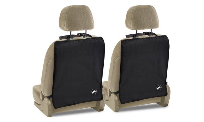 Up To 44 Off On Car Seat Back Protector Mats Groupon Goods
